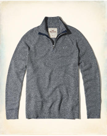 hol Half-Zip Mockneck Sweater
