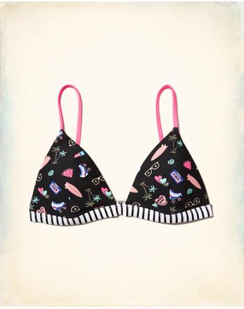hol Triangle Bikini Top