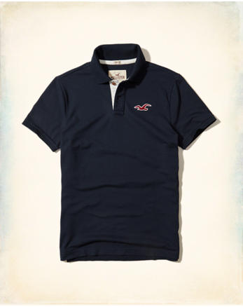 hol Stretch Pique Icon Polo