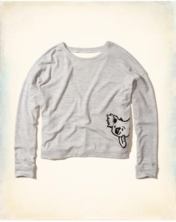 hol Graphic Crew Sweatshirt