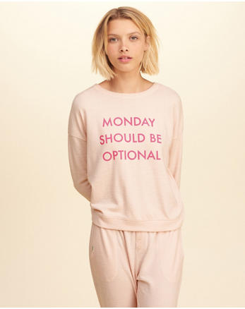 hol Graphic Crew Sweatshirt