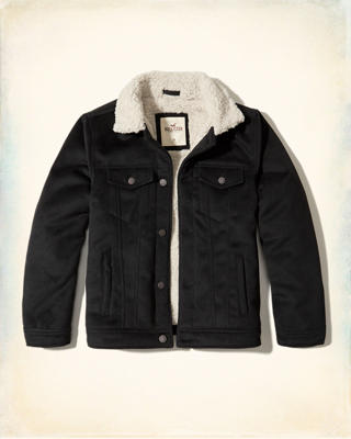 Sherpa Lined Trucker Jacket