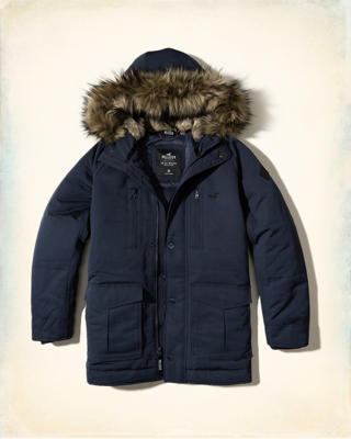 Nylon Down Parka