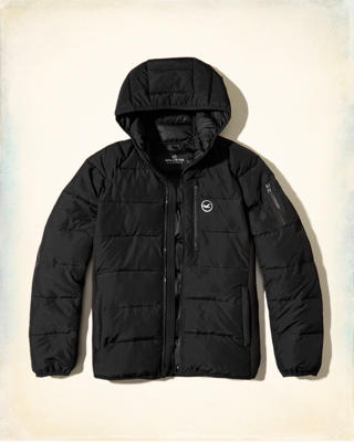 Neoprene Puffer Jacket