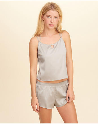 hol Strappy Satin Sleep Cami