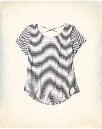 hol Must-Have Strappy Back T-Shirt