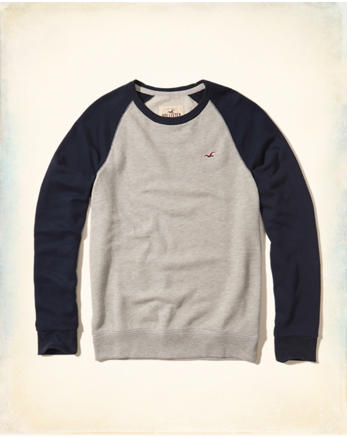 hol Colorblock Crewneck Sweatshirt