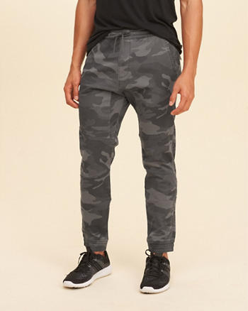 Advanced Stretch Camo Twill Jogger Pants
