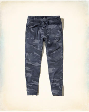 hol Advanced Stretch Camo Twill Jogger Pants