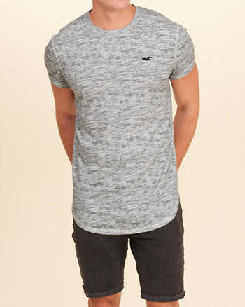 Must-Have Curved Hem T-Shirt