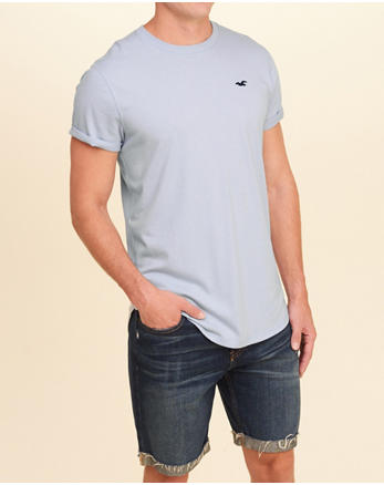 hol Must-Have Curved Hem T-Shirt