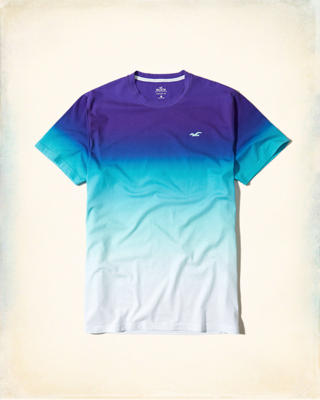 Must-Have Ombré Crew T-Shirt