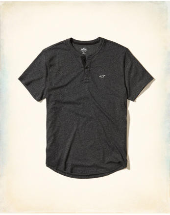 hol Must-Have Henley T-Shirt