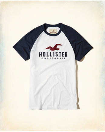 hol Colorblock Graphic Tee