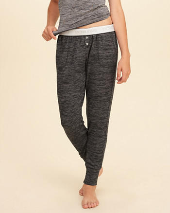 Textured Sleep Joggers