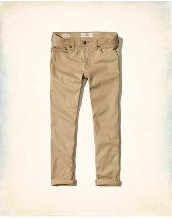 hol Skinny 5-Pocket Twill Pants