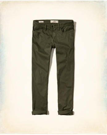 hol Epic Flex Skinny 5-Pocket Twill Pants