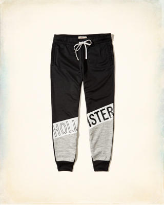 High-Rise Fleece Joggers