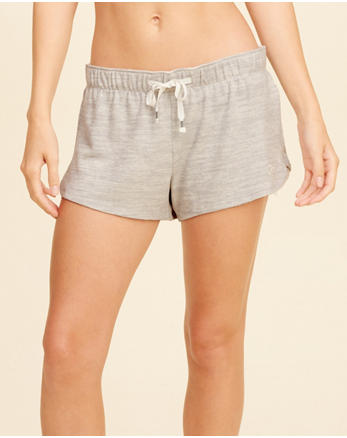 hol Curved Hem Lounge Shorts