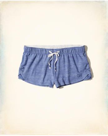 hol Curved Hem Lounge Shorts