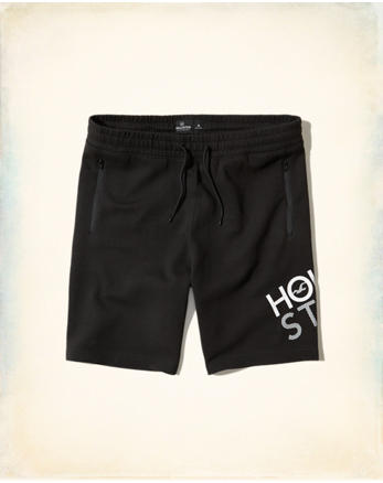hol Taper Fit Neoprene Shorts