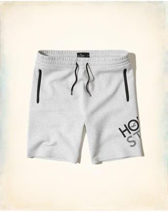 hol Taper Fit Neoprene Shorts