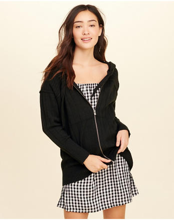 hol Full-Zip Hooded Sweater