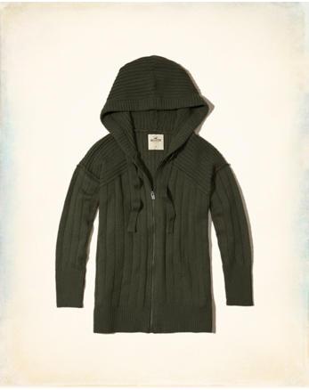 hol Full-Zip Hooded Sweater