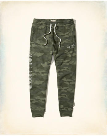 hol Hollister Feel Good Fleece Skinny Jogger Pants
