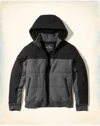 hol Sherpa Lined Puffer Jacket