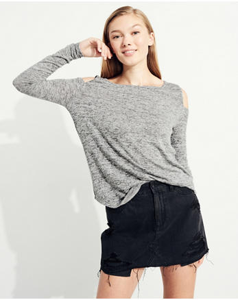 hol Must-Have Cold Shoulder T-Shirt