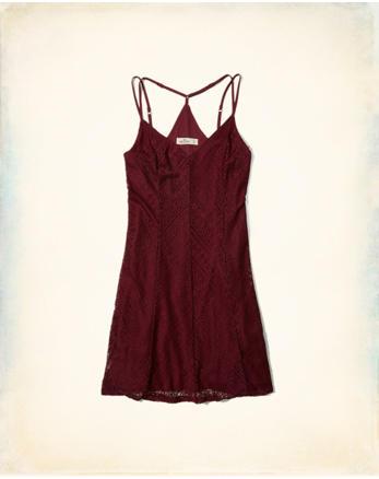 hol Strappy Lace Dress