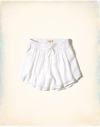 hol Drawstring Woven Shorts