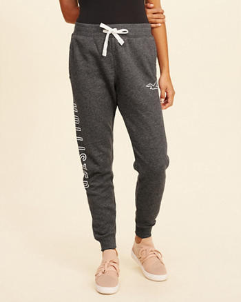 Hollister Feel Good Fleece Skinny Jogger Pants