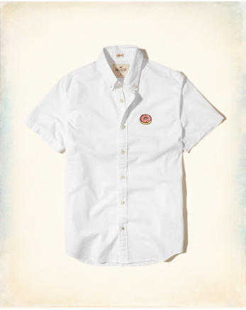 hol Embroidered Oxford Shirt