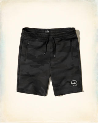 Taper Fit Neoprene Shorts