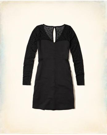 hol Star Mesh Bodycon Dress
