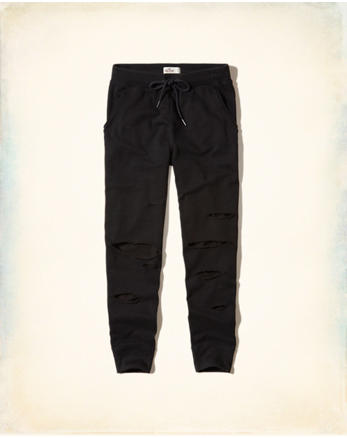 hol Ripped Fleece Joggers