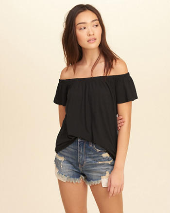 Easy Off-The-Shoulder Top