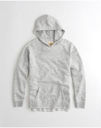 hol Textured Ripped Hoodie
