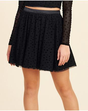 hol Star Mesh Skirt