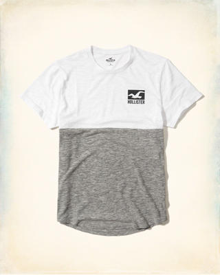 Colorblock Graphic Tee