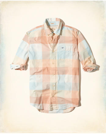 hol Patterned Stretch Poplin Shirt