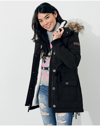 hol Stretch Cozy-Lined Parka