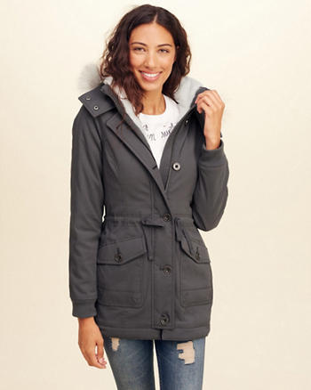 Cozy-Lined Parka