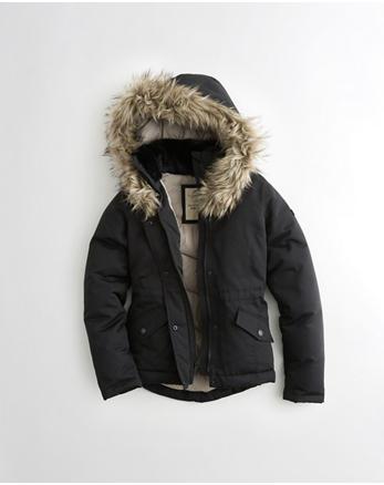hol Hollister Ultimate Down Anorak Jacket