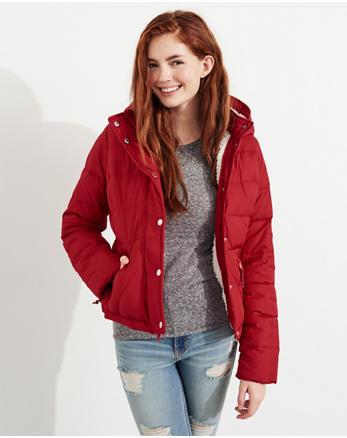 hol Sherpa-Lined Puffer Jacket