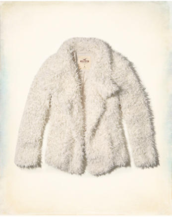 hol Faux Fur Coat