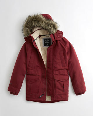 Hollister All-Weather Sherpa-Lined Parka