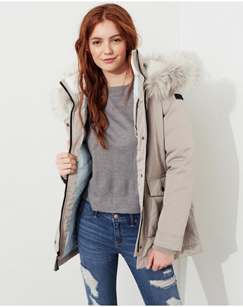 hol Hollister Ultimate Down Parka